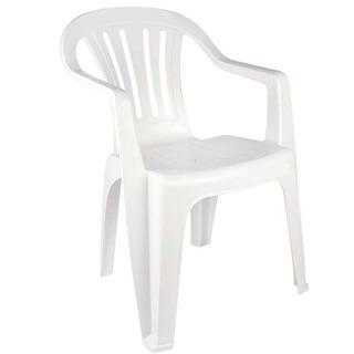 Cadeira De Plástico Mor Bela Vista 15151101 - Branco