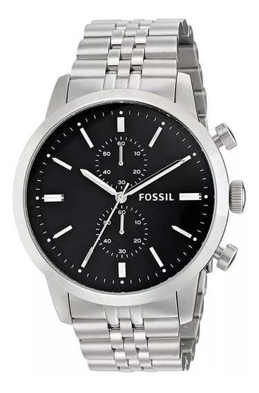 Relógio Fossil Masculino Prateado Analógico Fs4784/1pn