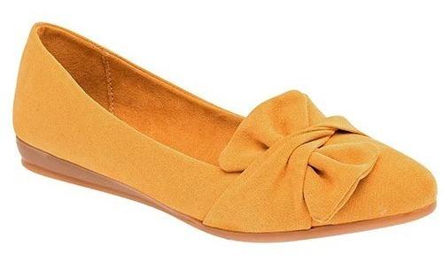 Zapato Para Dama Tipo Flats Marca Clasben Mod. 0014-22 Am P19a