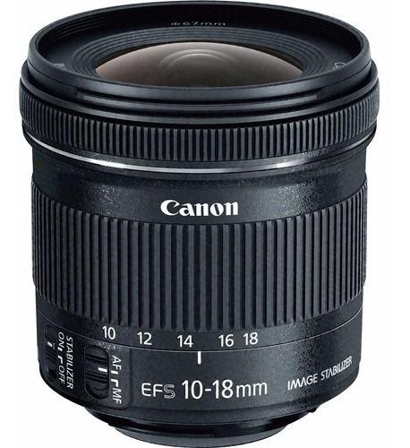 Lente Canon Ef-s 10-18mm F/4.5-5.6 Is Stm Garantia Brasil