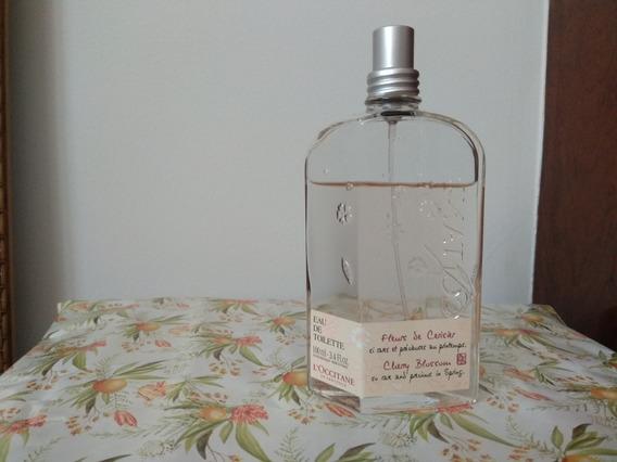 Perfume Loccitane Flor De Cerejeira 100 Ml Usado Original