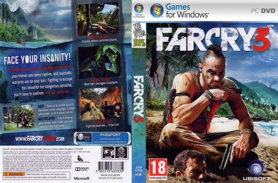 Far Cry 3 Pc (midia Física)