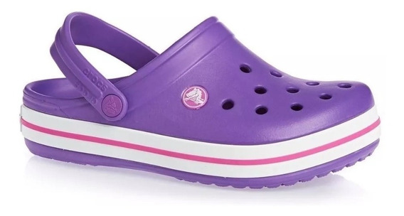 Sandalia Goma Crocs Crocband Kids Originales - Wales