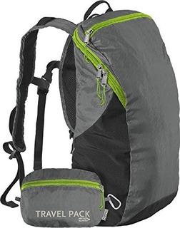 Paquete De Viaje Chicobag Repite Mochila Reciclada Compacta