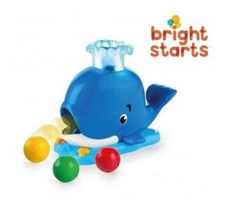 Juguete Interactivo Para Bebes Bright Starts Ballena Cuotas