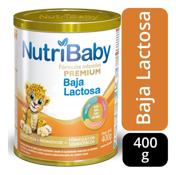 Nutribaby Baja Lactosa Leche En Polvo Lata 400grs