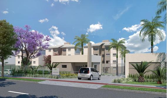 Ótimo Apartamento 3 Quartos Com Área Privativa Em Justinopolis - 1005