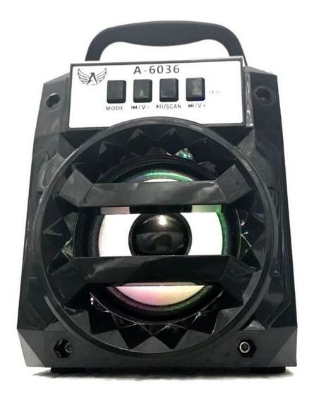 Caixa De Som Portátil Amplificada Usb Mp3 Radio Bluetooth