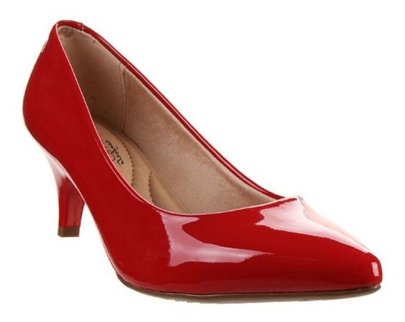 Zapatos Stilettos Beira Rio Vizzano Charol Taco 6 Cm Hot Rimini