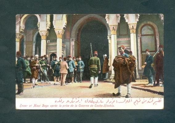 Turquia . Antigua Tarjeta Postal . Enver Et Niazi Beys .