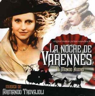 Cd : Armando Trovaioli - La Nuit De Varennes-il Mondo Nuovo.