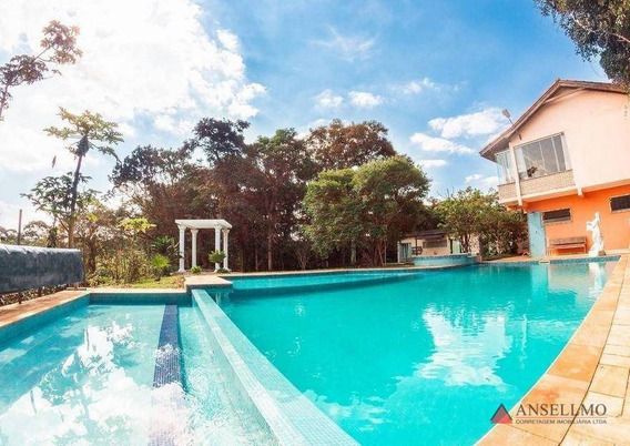 Chácara Com 3 Dormitórios À Venda, 6000 M² Por R$ 1.378.000,00 - Riacho Grande - São Bernardo Do Campo/sp - Ch0020
