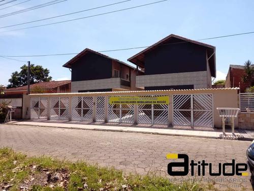 Imagem 1 de 15 de Sobrado A Venda 200m Da Praia - Mongagua - Sp - 4871