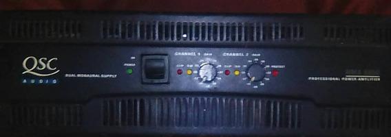 Amplificador Qsc 50505 Exelente Estado Jamas Reparado ...