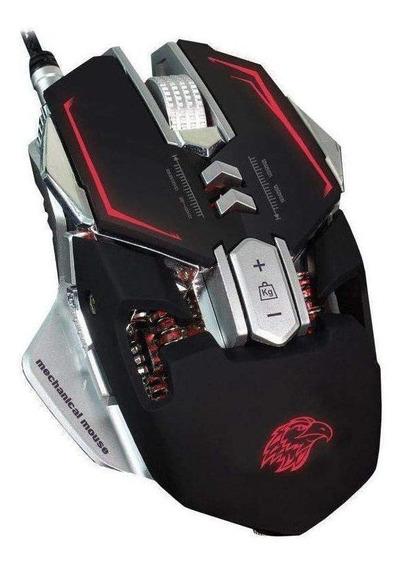 Mouse para jogo K-Mex MO-D837 Gamer preto