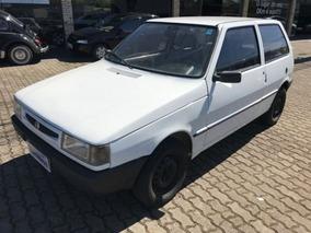 Fiat Uno Mille Sx 1997 Branco Gasolina