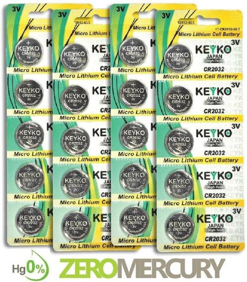 Pack De 10 Pilas Cr2032 Lithium 3v (computadoras)