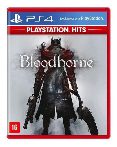 Jogo Bloodborne Mídia Física - Ps4