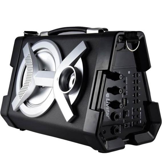 Caixa De Som Moderna Bluetooth 40w Livstar Cnn-43sp
