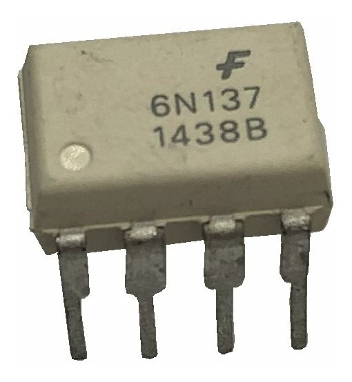 6n137 Optoacoplador High Speed Single And Dual, 10 Mbd X10un
