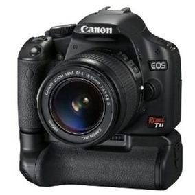 Grip Canon Eos 550d Rebel T2i T3i T4i T5i + 1 Bateria Lp-e8