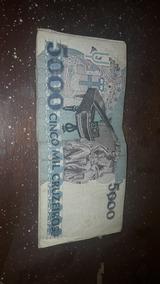 Notas Antigas Cinco Mil Cruzeiros