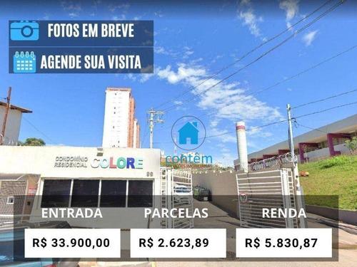 Ap2295 - Apartamento Com 2 Dormitórios, 62 M² - Venda Por R$ 339.000 Ou Aluguel Por R$ 1.750/mês - Jardim Maria Helena - Barueri/sp - Ap2295