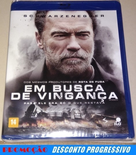Blu-ray Em Busca De Vingança (lacrado)