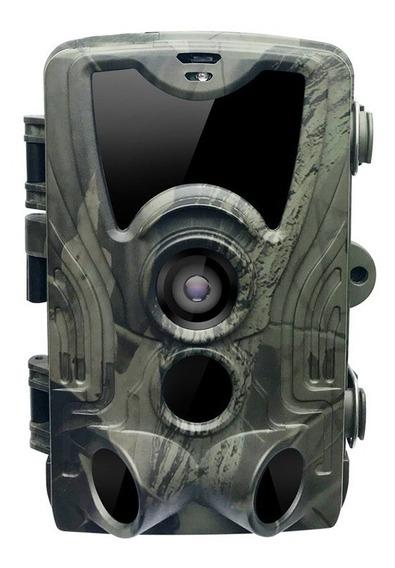 Armadilha Fotográfica Câmera Trilha Com Visor Lcd - Hc-801a