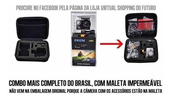 Câmera Eken H9r 4k Versão Combo Mais Completo Do Brasil