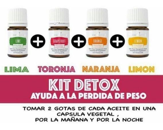 Detox De Aceite Esencial Young Living