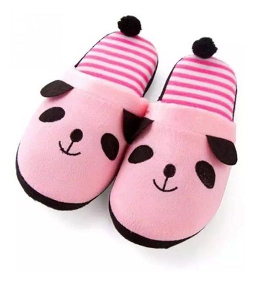 Pantuflas Dama Numero 23/24 Comodas Animalito Cerdito Piggy