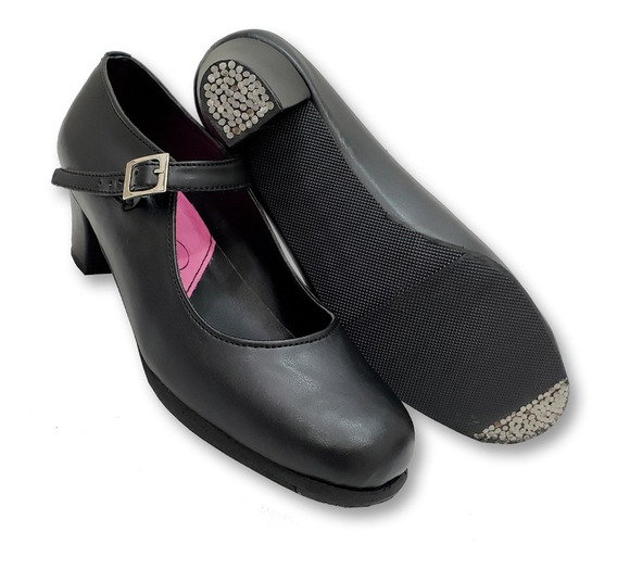 Zapatos De Flamenco - Tacón