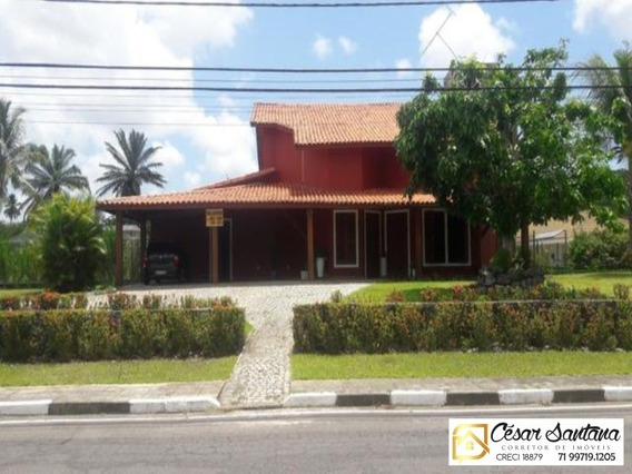 Casa Condomínio Encontro Das Águas Lauro De Freitas - Ca00329 - 32829852