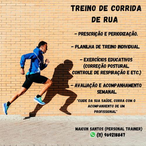 Imagem 1 de 1 de Personal Trainer - Corrida De Rua