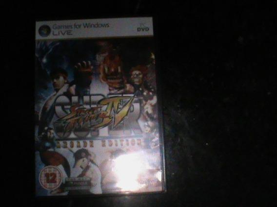 Jogo De Pc Super Street Fighter 4 Original