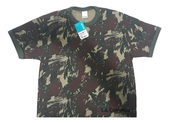 Camiseta Camuflada Exército Malwee Original (pronta Entrega)