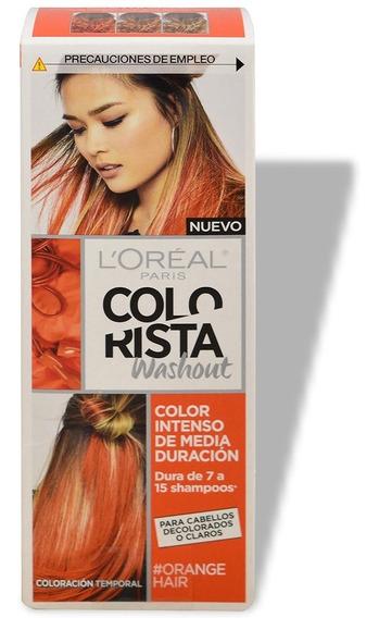 Tintura Semi Permanente Colorista Washout Loreal 8 Colores