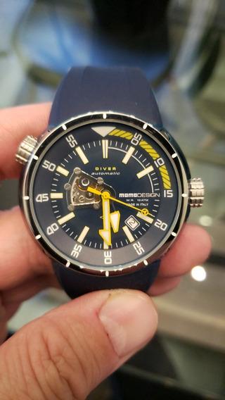 Relógio Momo Mergulho Diver Automático Pela Metade Do Preço