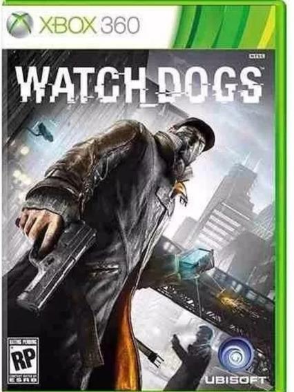 Jogo Watch Dogs Xbox360 Mídia Fisica Original Com Nota Fisca