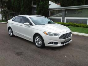Ford Fusion 2013 Top Teto Multimidia Gps Unico Dono 2.5 Flex