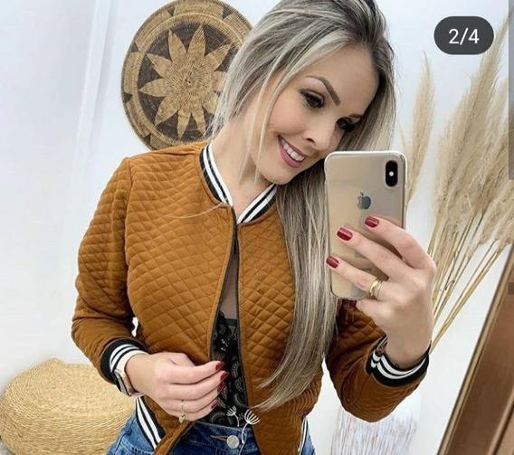 Casaquinho Feminino Matelasse Blogueira De Frio Inverno