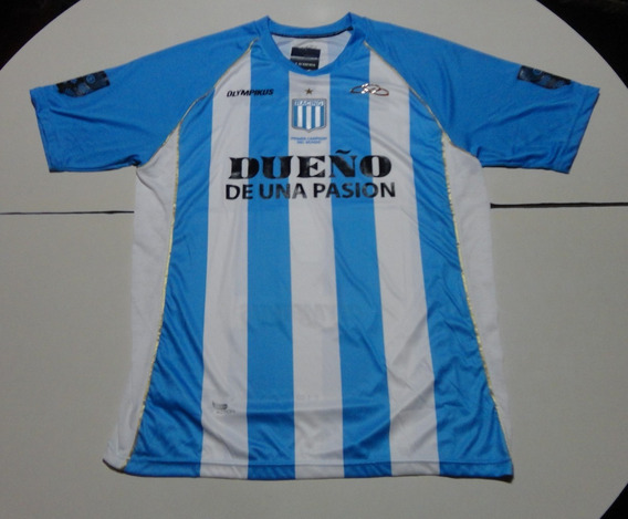 Camiseta De Racing Marca Olympikus #7, Talle Xl
