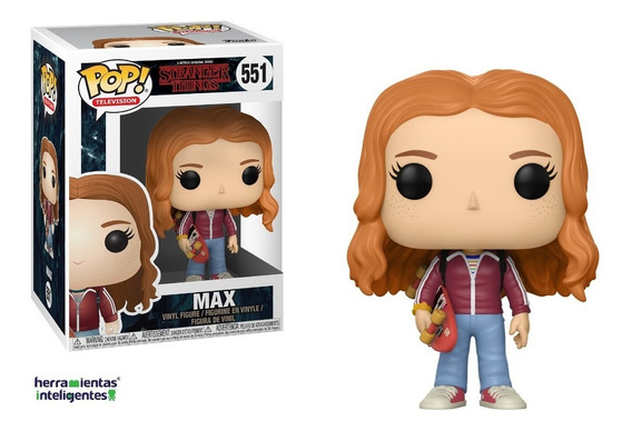 Max With Skateboard Funko Pop Stranger Things Season 2