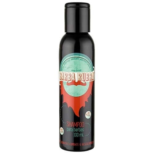 Shampoo Para Barba 100 Ml - Barba Rubra