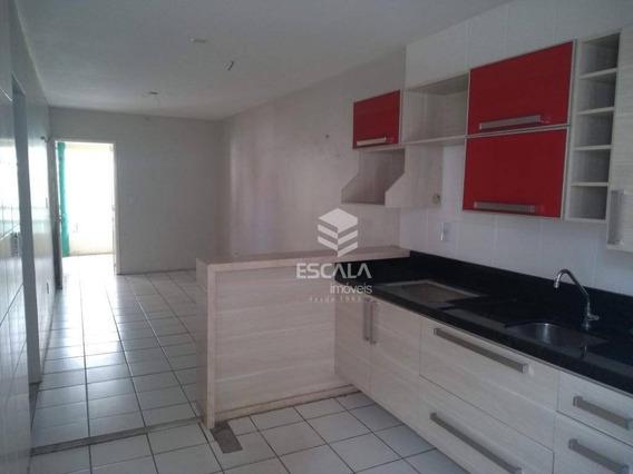 Casa Com 2 Quartos À Venda, 57 M², Condomínio Fechado, Móveis Projetados - Castelão - Fortaleza/ce - Ca0326