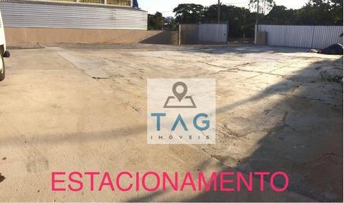 Terreno Para Alugar, 1100 M² Por R$ 3.500,00/mês - Jardim Santa Amália - Campinas/sp - Te0067