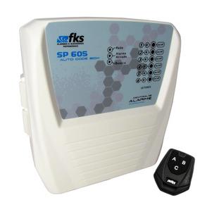 Alarme Residencial 6 Setores Sp 605 Fl 1 Controle Fonte Fks