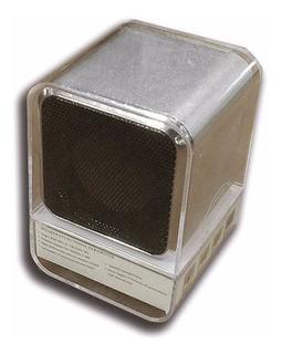 Mini Parlante Portatil Tt Radio Para Tarjeta Micro Sd