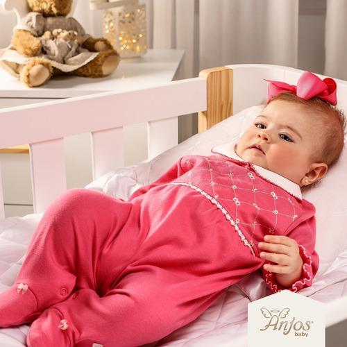Imagem 1 de 6 de Saída Maternidade Menina 2 Peças